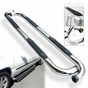 3 S S Nerf Bar Side Step Running Board For 05 18 Nissan Frontier Crew Cab