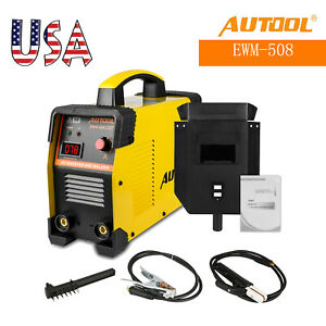 Autool 110v 240v Ewm 508 Inverter Welding Machine Arc Welder Igbt With Mask