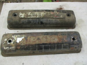 Ford Y Block 292 312 54 55 1956 57 58 59 60 61 62 Valve Covers