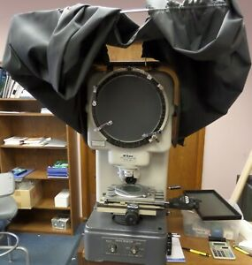 Used Nikon 6 c Turret Lens Optical Comparator
