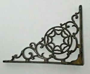 Antique Cast Iron Corbel Corner Bracket 6 7 8 X 8 7 8 Victorian Style