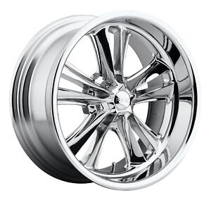 Cpp Foose F097 Knuckle Wheels 17x7 Fits Ford Mustang Falcon Galaxie