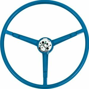 1967 70 Mopar A b body Blue Steering Wheel Charger Dart Duster Roadrunner Gtx