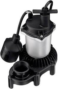 New Flotec Fpzs50t 1 2 Hp 4200gph Thermoplastic Submersible Sump Pump 6265615