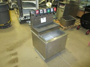 Cornelius Cb2323al6 6 Flavor Soda Fountain Machine Cold Plate Ice Bin Carbonator