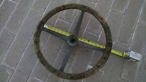 Antique Steering Wheel Wood Ford Model T Vintage Unique Rare