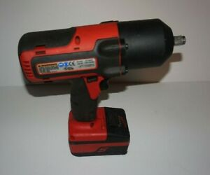 Snap On 1 2 18v Ct7850 Impact Gun With Battery And Cover