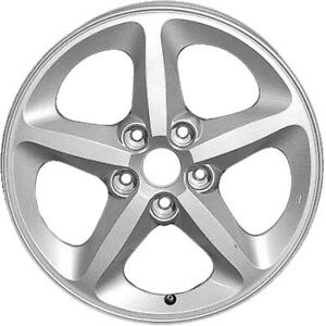 70727 Factory OEM 17X6.5 Alloy Rim Sparkle Silver wo Wheel Weight Lip for TPMS