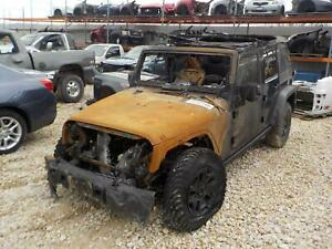 2014 Jeep Wrangler Front Axle Assembly Dana 30 Lhd 3 73 Ratio 11 14