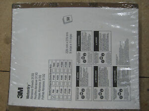 3m Wetordry 9 X 11 Inch Abrasive Paper Sheets P60 Grit Pack Of 50