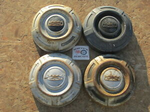 1968 74 Ford 3 4 Ton Pickup Truck Van Painted Dog Dish Hubcaps Set Of 4