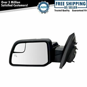 Mirror Power Heated Puddle Spotter Driver Side Left Lh For 11 14 Ford Edge New