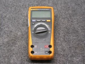 Fluke 177 True Rms Multimeter tested Working