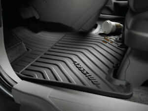 2014 Honda Odyssey All Season Floor Mats Black New Look