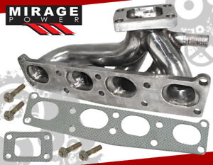 For Mazda 626 Protege Mx 6 Fs Fp 1 8 2 0 Stainless T25 Turbo Conversion Manifold