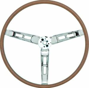 Oer Mw748 Deluxe Woodgrain Steering Wheel 1968 1969 Dart Charger Satellite Gtx