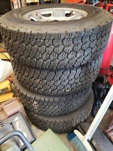 Truck Tires 4 Nearly New Gmc Sierra 1500hd Tires