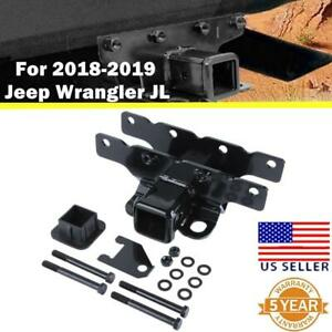 Trailer Hitch Receiver 2 Rear Towing Receiver For 18 2019 Jeep Wrangler Jl jlu