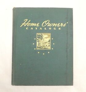 Vintage 1940 Fw Dodge Home Owners Catalogs Book Building Materials Brochures Hc
