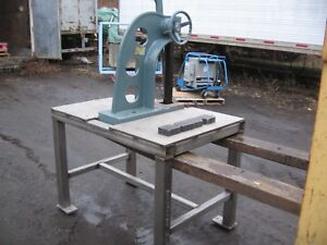 Enco mhc 5 Ratchet Type Arbor Press Comes With Ss Work Bench
