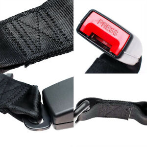 2x 14 Universal Car Seat Seatbelt Safety Belt Extender Extension 7 8 Buckle