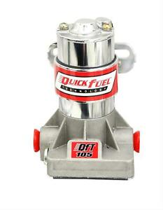 Quick Fuel 30 105qft Electric Fuel Pump Regulator 105 Gph 7 Psi 3 8 Npt