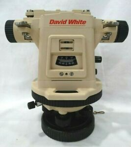 David White Lt8 300 Model 8870 Survey Transit With Case