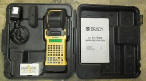 Brady I d Pro Label Maker Wire Marking Printer W Case Works Fine Needs Batry
