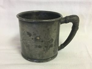 Antique Monroe Silver Co Triple Plate 775 Baby Cup