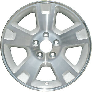 03528 Refinished Ford Explorer 2002 2005 17 Inch Wheel Rim Silver Painted