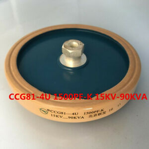 1pc Ccg81 4u 1500pf k 15kv 90kva High Frequency High Voltage Ceramic Capacitor
