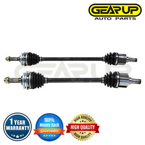 Pair Front Cv Axle Joint Assembly For Geo Metro Base Lsi Standard Trans 1 0l I3