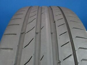Used Continental Contisportcontact 5 245 35 21 5 6 32 Tread No Patch 1166f