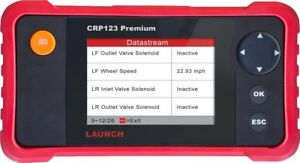 Launch Creader Crp123premium Car Diagnostic Tran10 Test Modes Abs Srs A t Engine