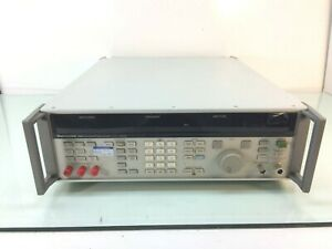 Gigatronics Fluke 6080a Synthesized Signal Generator 10khz To 1056mhz Read