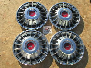 1970 73 Ford Mercury Mustang Cougar Torino Montego 14 Wheel Covers Hubcaps