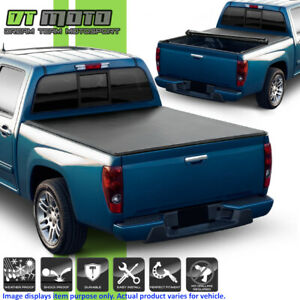 Soft Roll Up Tonneau Cover For 2004 2012 Chevy Colorado Gmc Canyon 6ft Short Bed