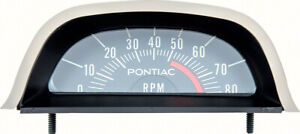 Oer Hood Tachometer 5200 Red Line V8 Point Ignition 1968 Pontiac Firebird Gto