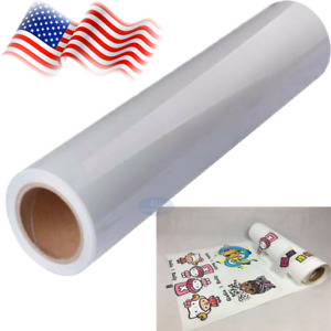 24 x50 White Eco solvent Printable Heat Transfer Pu Vinyl For All Color T shirt