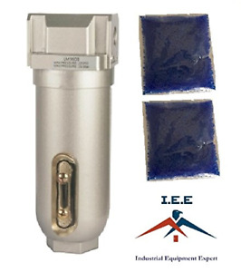 3 4 Compressed Air In Line Filter Desiccant Dryer Moisture Water Separator New