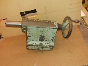 Clausing Lathe Tailstock Model 5900 12
