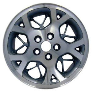 09015 Refinished Jeep Grand Cherokee 1996 1998 16 Inch Wheel Machined W Green