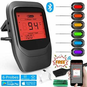 Meat Kitchen Thermometer Cooking Bluetooth Bbq Food Wireless Remote Digital Led