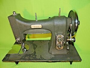Vintage Rotory Sewing Machine White Seris 77 Electric W Pedal Tested Works