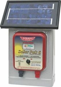 New Parker Mccrory Df sp li Electric Fence Solar 25 Mile Charger Usa 1280395