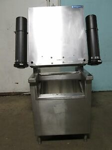 stainless Inc Beverage soda Station W built In Ice Bin Cup Lid Dispensers