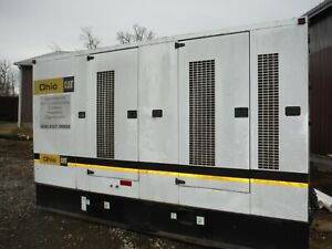 Caterpillar Cat Xq350 Turbo Diesel 350 Kw Generator As is Still Runs