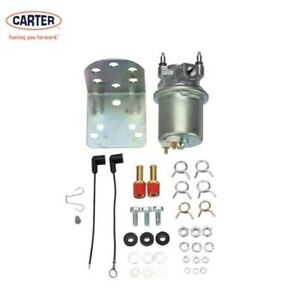 New Genuine P4594 Carter Electric Fuel Pump Universal 72 Gph 6 8 Psi Holley