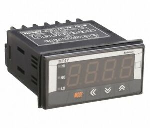 Autonics mt4y dv 43 4 digit 36x72mm 0 500vdc Dc volt Multi panel Digital Meter