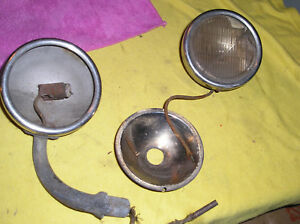 4 Original Model A Ford Cowl Light Parts 1930 1931